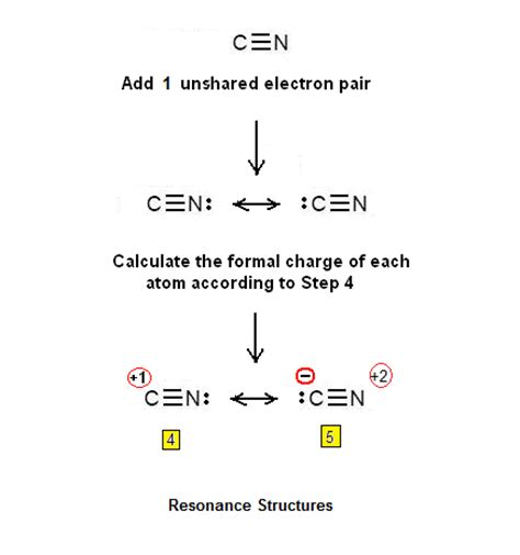 solved write a lewis electron simple procedure for writing the lewis structures of cn