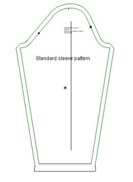 sleeve template how to sew sleeves that let you move flamenco dressmaking