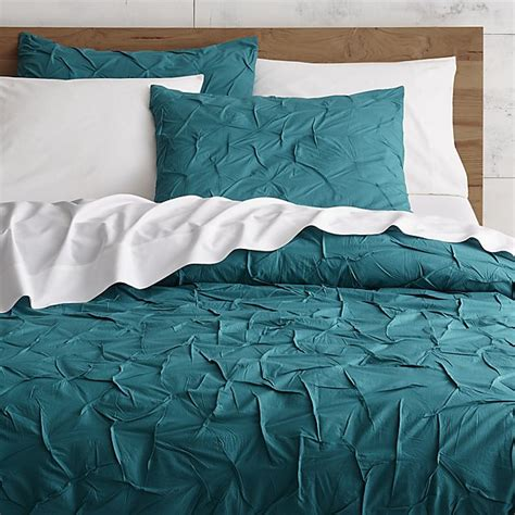 teal bed sheets melyssa teal bedding cb2