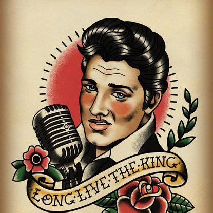 the 25 best elvis tattoo ideas on pinterest images of