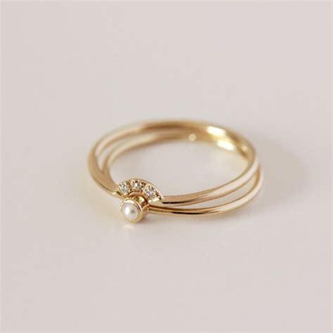 pearl wedding ring with summer sale wedding