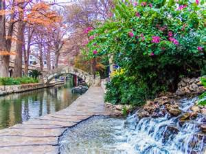 San antonio is a beautiful city with distinctive spanish colonial