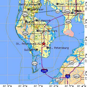 zip code map st petersburg fl st petersburg florida fl population data races