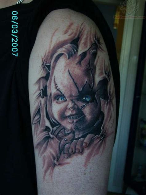 chucky tattoo chucky images designs