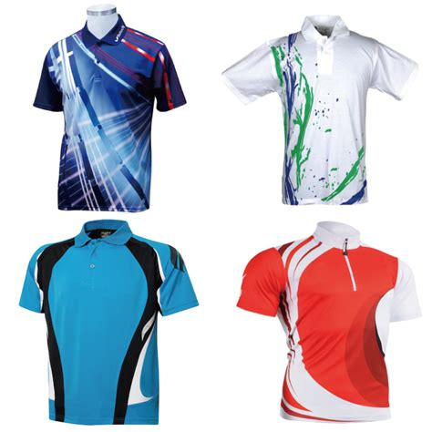 Sport T Shirt 1 sublimation printing womens mens golf polo shirts tennis