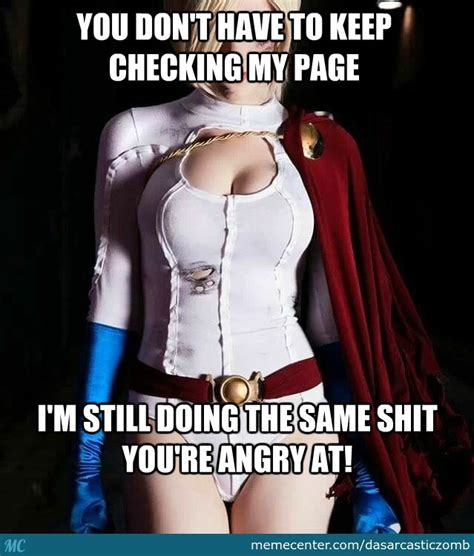 Woman Power Meme - power girl venting by dasarcasticzomb meme center