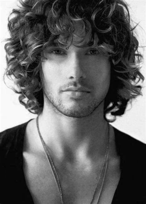 hairstyles guys blonde curly hair 15 collection of men long curly hairstyles