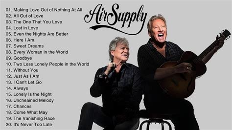 best new albums top 20 air supply best songs air supply new album
