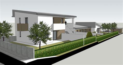 Progetto Casa Bifamiliare by Progettazione Chiavi In Mano 187 Progetto Casa Trifamiliare