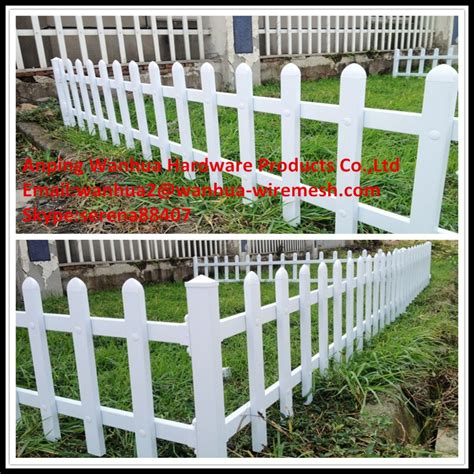 Plastic Garden Fencing Popular China Made White Decorative Plastic Garden Edge
