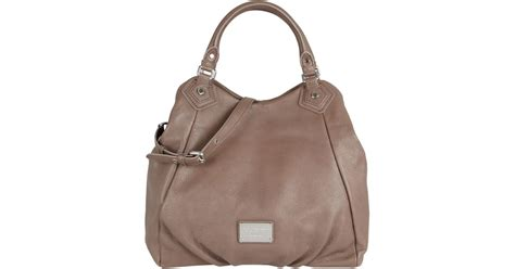 Designer Purse Deal Marc By Marc Tinted Denim Jazz Handbag by Marc By Marc Taupe Classic Q Tote Bag In