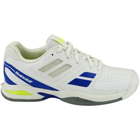 white tennis shoes babolat propulse team all court tennis shoes white