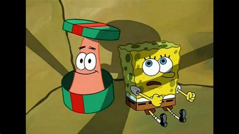 spongebob box quot here i am quot idiot box
