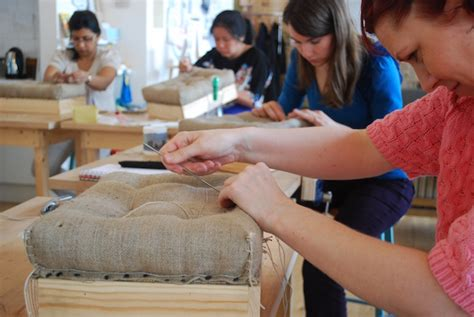 courses in upholstery creative crafty classes in london