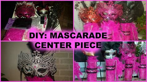 Masquerade Decorations Diy by Diy How To Make A Masquerade Centerpiece