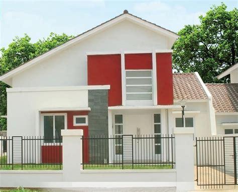 contoh rumah sederhana tapi kelihatan mewah terbaru