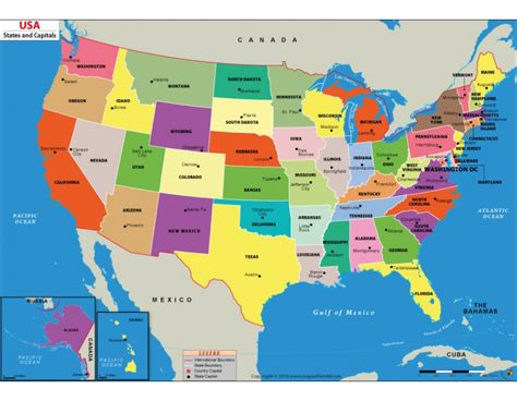 map of states buy usa digital map us states and capital map