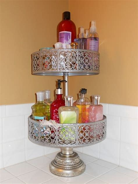 bathroom organizers pinterest two tiered bathroom organizer organization ideas pinterest bathroom organizers