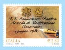 ufficio postale schio italia emissioni 2005
