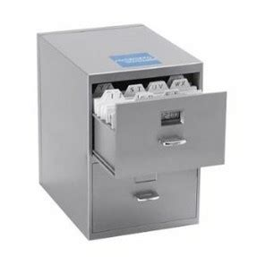 mini fridge disguised file cabinet gadgets for the office and home