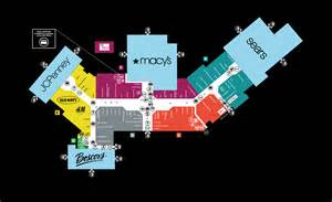 mall map of county mall 174 a simon mall toms river nj