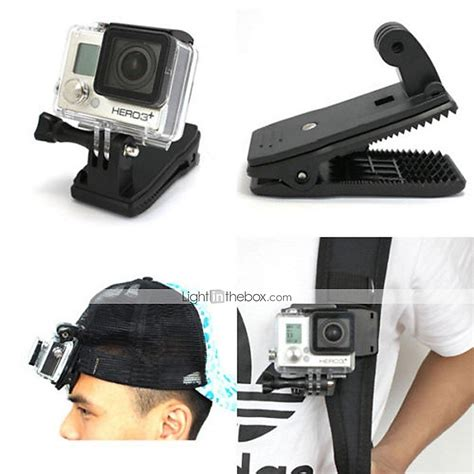 gopro accessories clip mount holder 360 176 rotation for all gopro gopro 5