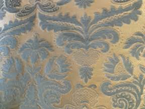 Silk Damask Upholstery Fabric Italian Linen Silk Damask Upholstery Fabric Sage Sold Au