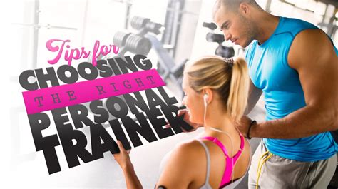 10 Tips For Choosing The Right Personal Trainer by The Ultimate Guide To Choosing A Personal Trainer
