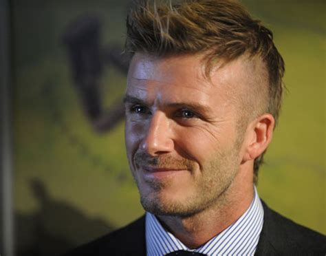 david beckham hairstyles 2009 david beckham s new look in pictures fashion the
