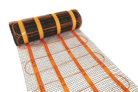 heat mat underfloor heating spacers showrooms