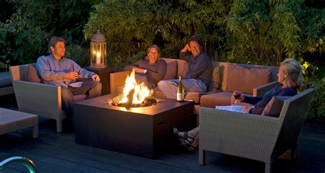 warmte kachel voor op de tafel happy cocooning loungetafels met ingebouwde tuinhaard