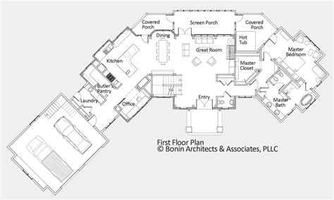 floor plan and renderings of the home so you can see what it will look hand rendered floor plans