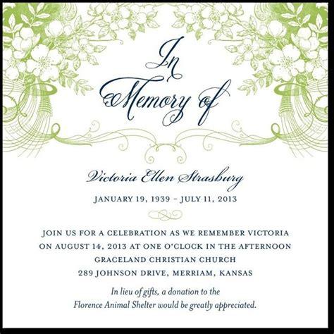 Memorial Service Announcement Cards Template by 27 Best Memorial Announcements Images On Card