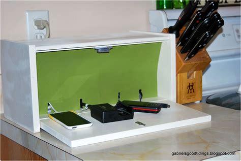 easy diy charging station design interior design ideas