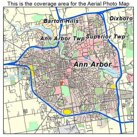map arbor aerial photography map of arbor mi michigan