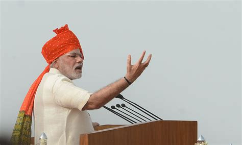 indian prime minister narendra modi delivers remarks to indian independence day modi vows to fix government muddle world