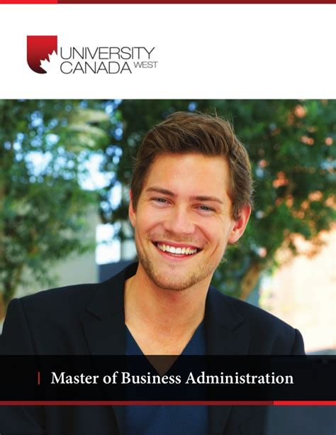Of West Mba by Canada West Mba Brochure