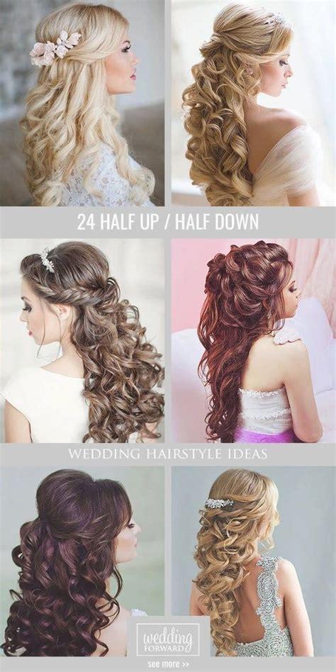 Wedding Guest Hairstyles Half Up Half by Best 25 Half Up Wedding Ideas On Wedding
