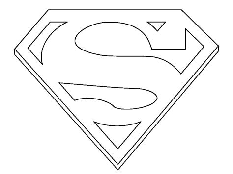 coloring books superman sign to print and free download