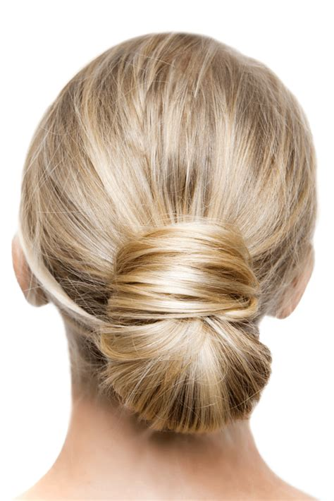 is putting hair in a bun a new fad low bun hairstyles southern living