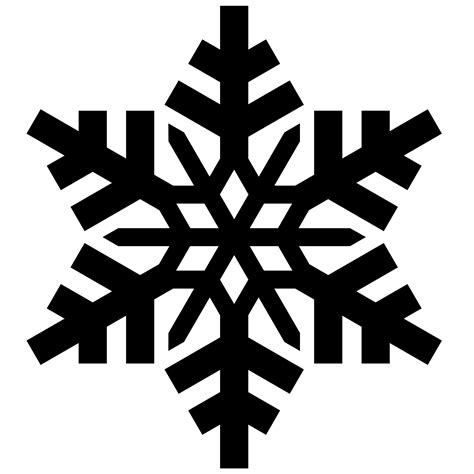 snowflake vector png clipart best