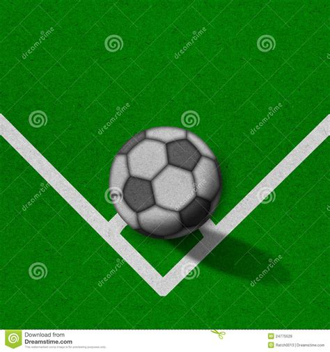 Time Football Essay by Soccer Football Field With Lines On Grunge Paper Royalty Free Stock Images Image 24775529
