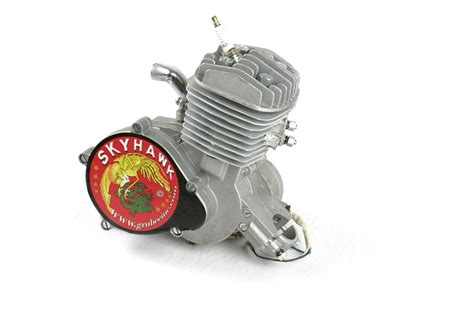 motorized bicycle engine grubee skyhawk gt5a 80cc 66cc angle slant