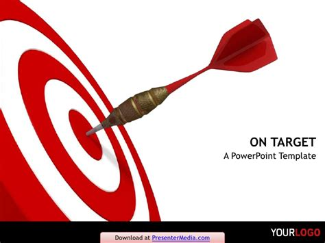 On Target Powerpoint Template Target Powerpoint Template