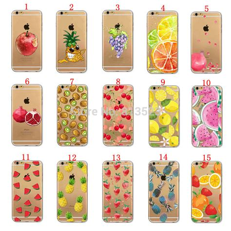 Fruit For Iphone 4 4s 5 5s Se 6 6s 6 7 9 buy iphone 4 4s 5 5s se 5c 6 6s plus fruit watermelon