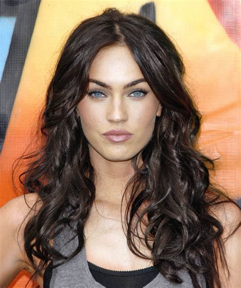 fox hair celebrity hairstyle best actress megan fox hairstyle