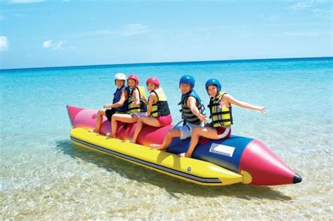 banana boat resort recreation banana boat ride picture of berjaya tioman