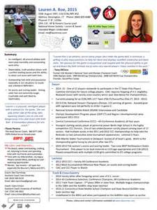 Professional Athlete Resume Sle by Athletic Resume Template