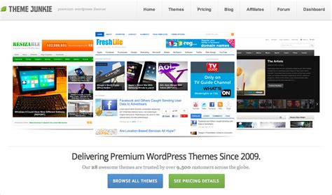 theme junkie com great wordpress themes best wordpress themes and templates