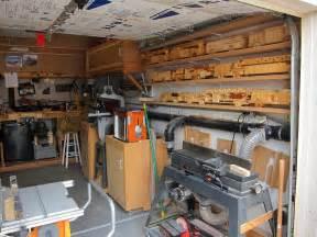one car garage workshop best garage woodshop ideas
